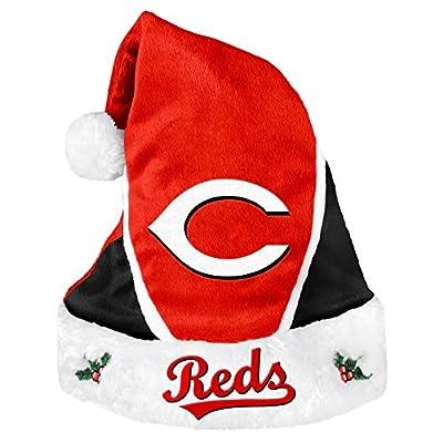MLB Cincinnati Reds 2014 Colorblock Santa Hat, Red