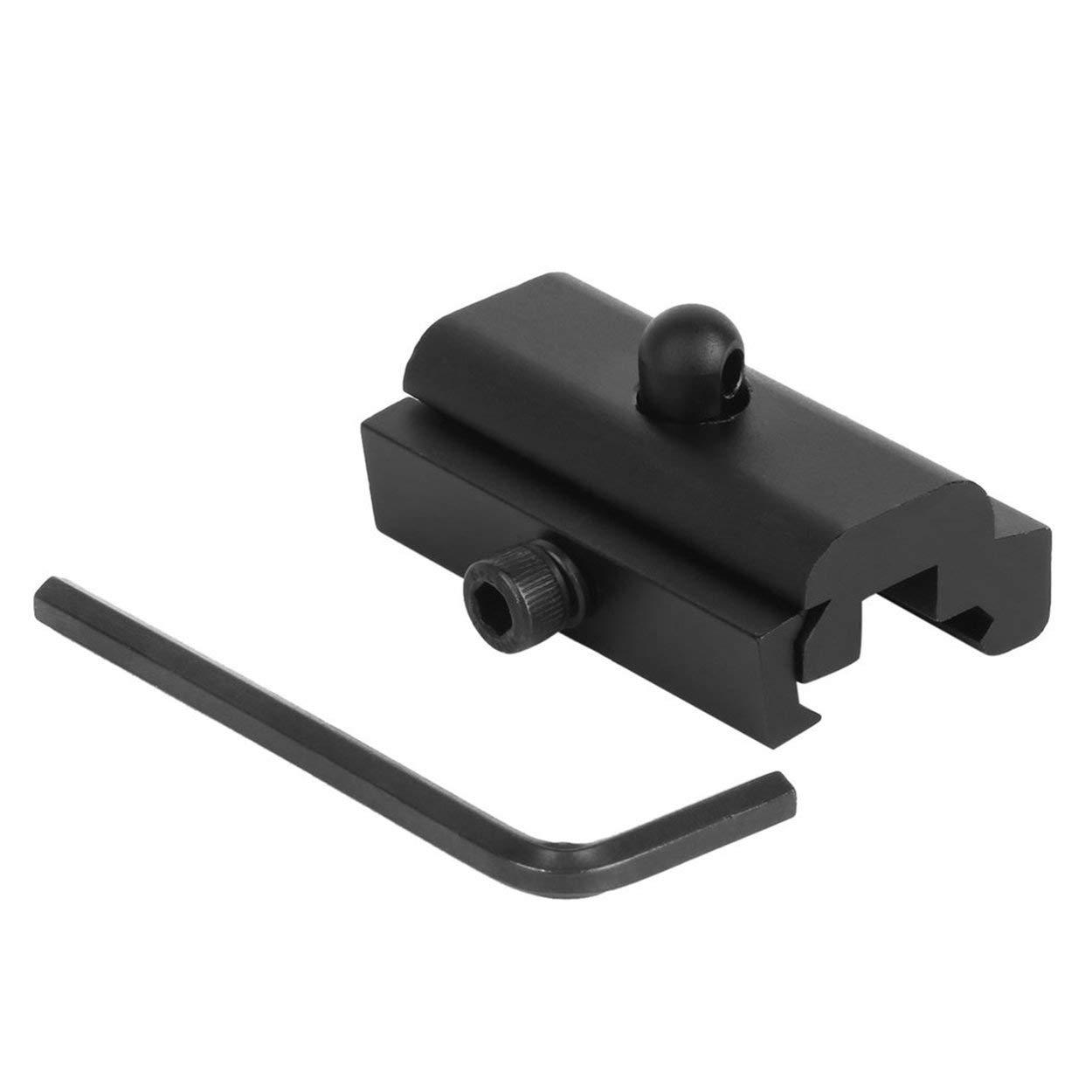 Lorenlli Tactique Chasse Sling Pivot Adaptateur Picatinny Rail Rail Harris Style Rifle Montage Bipod Airsoft en Aluminium Durable Mount