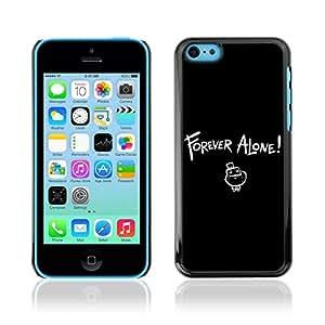 A-type Arte & diseño plástico duro Fundas Cover Cubre Hard Case Cover para Apple iPhone 5C ( Divertido MEME siempre solo LOL )