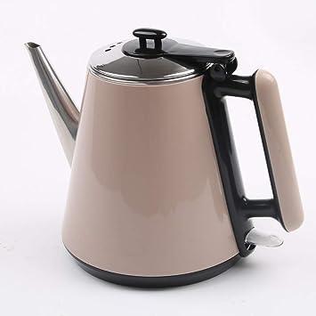 AYHa Cafetera eléctrica de acero inoxidable, de uso ...