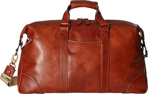 (Bosca Men's Dolce Collection - Duffel Amber One Size)
