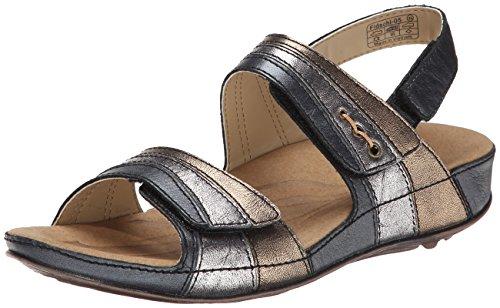 Romika Fidschi 05de la mujer vestido sandalia Black