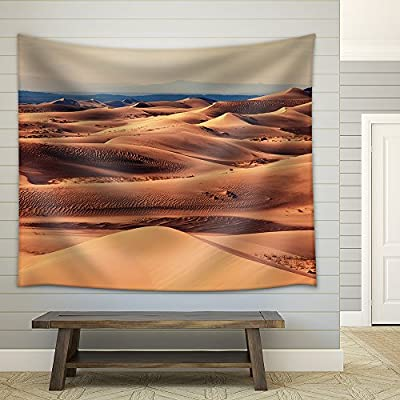 Grand Creative Design, Sand Dunes in The Sahara Desert Fabric Wall, Premium Creation