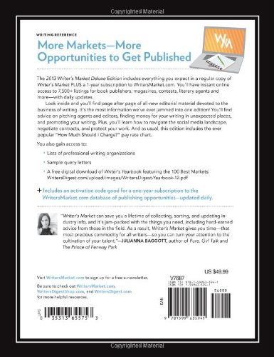 2013 Writer's Market, Deluxe Edition, 13th Annual Edition