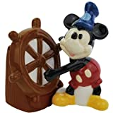 Westland Giftware Steamboat Willie Magnetic Ceramic Salt and Pepper Shaker Set, 4-Inch