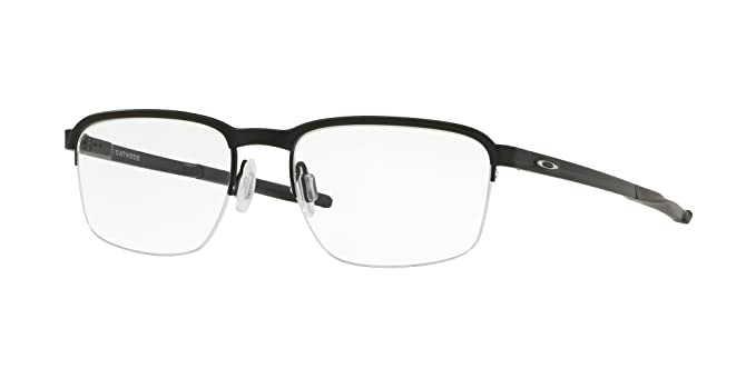 fca383abcb OAKLEY 0OX3233 - 323301 Eyeglasses SATIN BLACK 54mm at Amazon ...