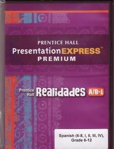 REALIDADES 2011 PRESENTATION EXPRESS DVD-ROM LEVEL A/B/1