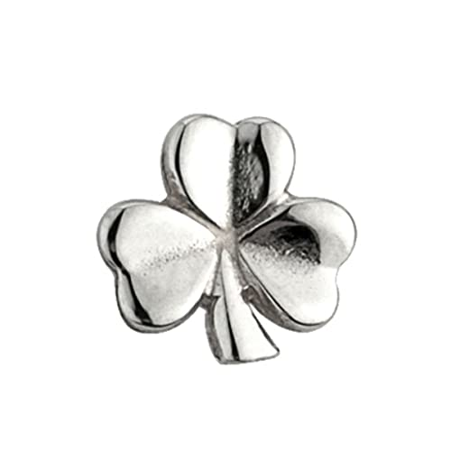76fd02759 Image Unavailable. Image not available for. Color: Shamrock Stud Earrings  In Sterling Silver ...