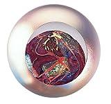 Glass Eye Studio Mars Blown Glass Paperweight