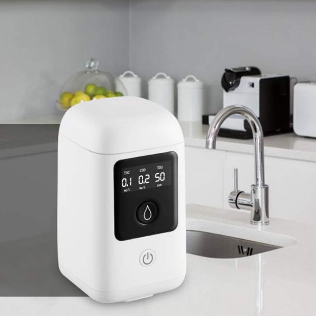 LOVIVER Probador de Calidad de Agua Digital TOC COD TDS Probador 3-en-1 Tester TDS Medici/ón de Agua Potable en Hogar Piscina de Acuario Hidrop/ónico