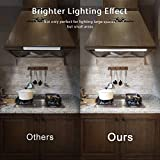 78 LED Closet Light, Newest Version Rechargeable LED Motion Sensor Under Cabinet Lights Wireless Night Lighting for Kitchen Cabinet Wardrobe, 2 Sensor Mode (Only Motion, Motion &am