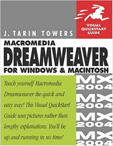 Macromedia Dreamweaver MX 2004 for Windows & Macintosh: J