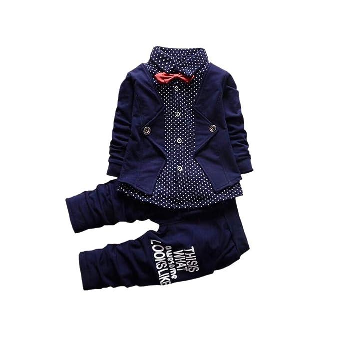 Amazon.com: bibicola Primavera Otoño Ropa Ropa bebé niños ...