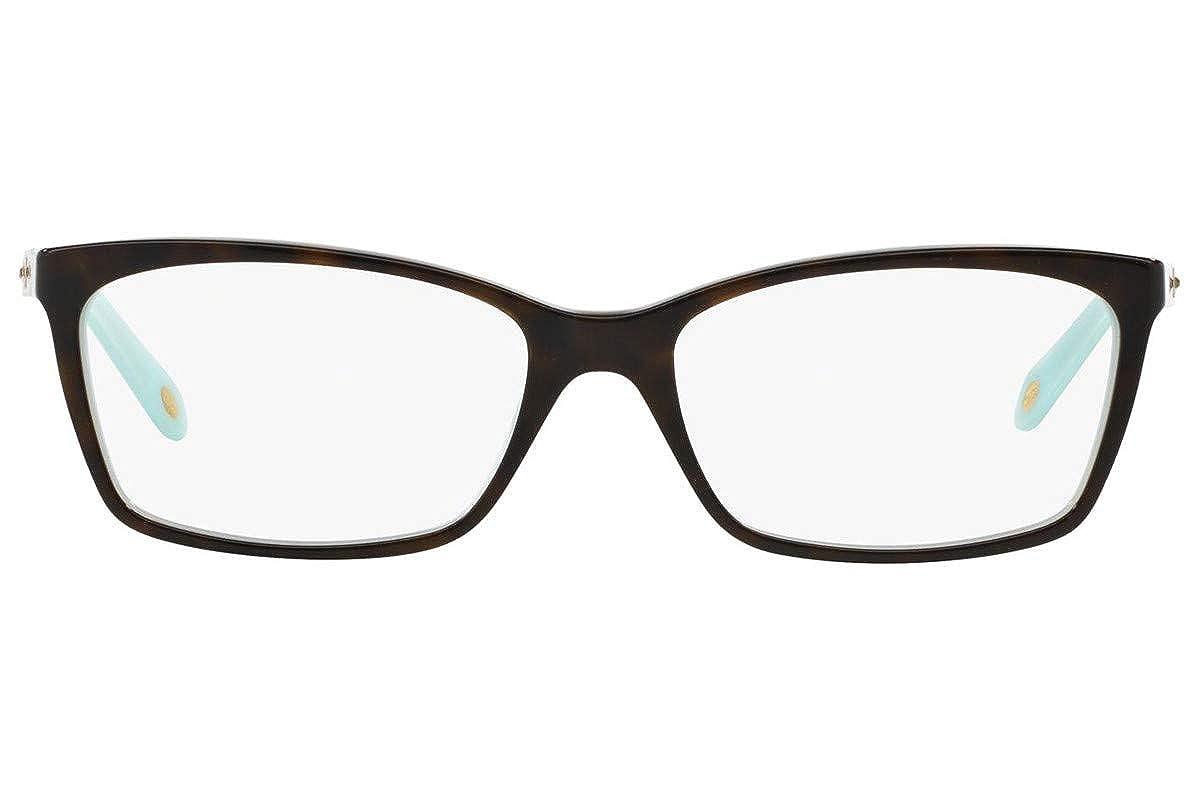 25fae48a542 Tiffany   Co Women s Eyeglasses TF2103B TF 2103 B 8134 Havana Optical Frame  55mm at Amazon Women s Clothing store