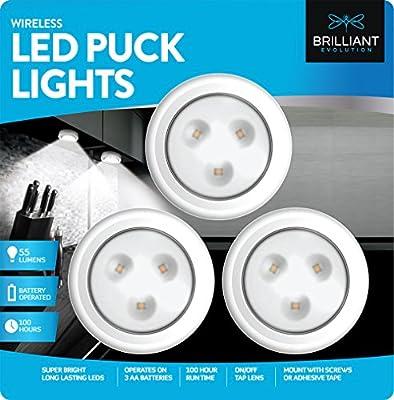 Wireless LED Puck Light