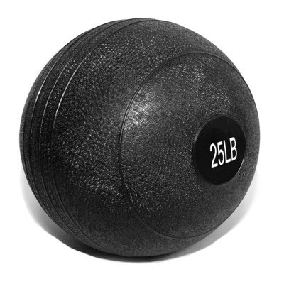 Valor Fitness Slam Ball, 25-Pound, Black