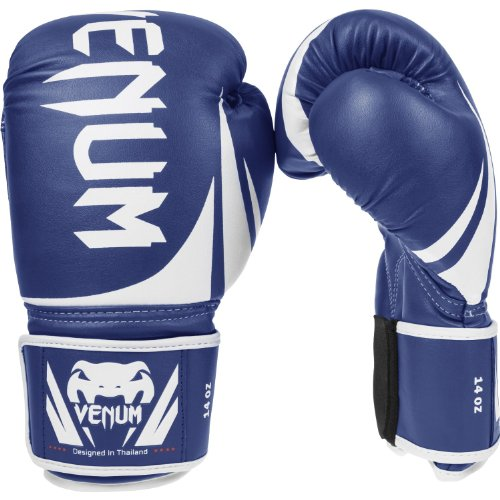 Venum Challenger 2.0 Boxing Gloves - Blue - 16-Ounce