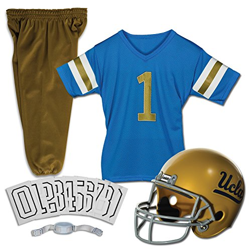 Franklin Sports NCAA UCLA Bruins Deluxe Youth Team Uniform Set, Small