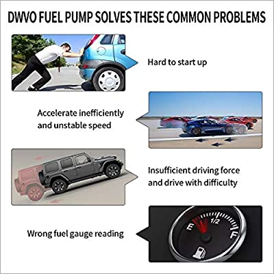 DWVO Fuel Pump Compatible with 1996 1997 Chevy Chevrolet GMC C/K 1500 2500 3500 4.3L 5.0L 5.7L 7.4L: Automotive