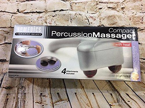 - Homedics Compact Percussion Massager w/Heat