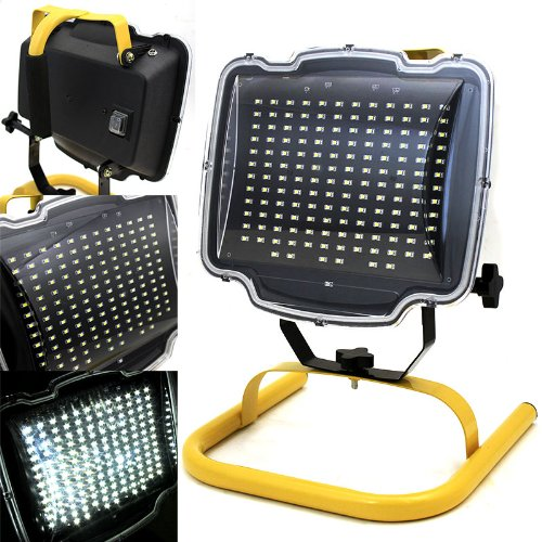 XtremepowerUS 150 SMD Cordless LED Work Light Automotive Worklight Shop Emergency Camp Lights