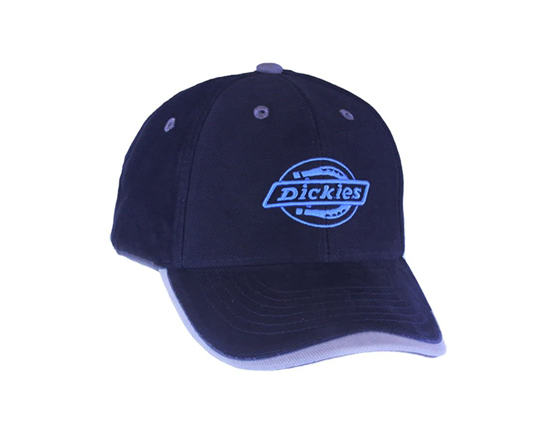 a653cf4b14a49a Dickies Collectable Embroidered Baseball Cap in Navy: Amazon.co.uk: Clothing