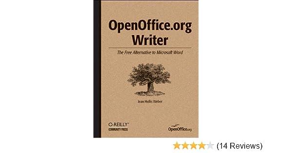openoffice org writer the free alternative to microsoft word jean