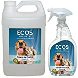 #5: ECOS Earth Friendly Pet Stain & Odor Remover 128oz (Gallon) + 22 oz Combo