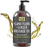 M3 Naturals Ylang Ylang and Ginger Massage Oil