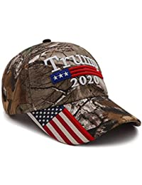 fac81441 Donald Trump Hat 2020 Keep America Great Camo MAGA Hat Adjustable Baseball  Hat