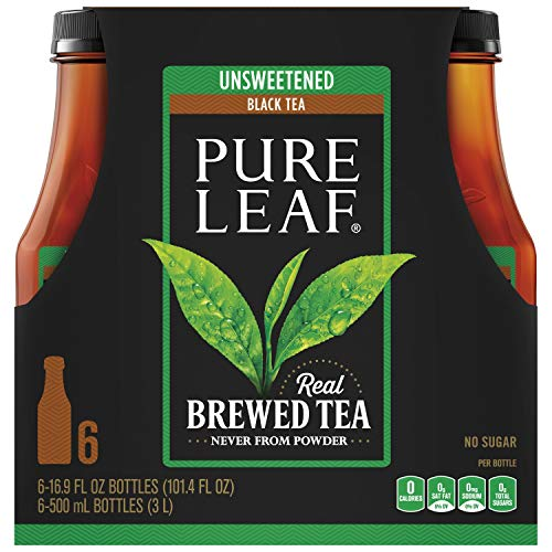 Pure Leaf, Unsweet, 16.9 Ounce (Pack of 6)