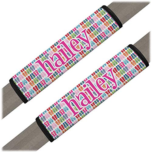 - YouCustomizeIt Flipflop Seat Belt Covers (Set of 2) (Personalized)