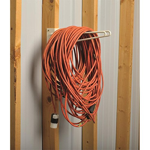 12''L Wire Rod Tool Storage Rack for Unfinished Shed Garage & Shop Walls - Securely Hang and Store Long Handled Shovels Garden Rakes + Hose Pipes Brooms Spades Coils & General Work Tools by GEMPLER'S (Image #4)