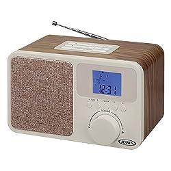 Jensen Digital AM/FM Dual Alarm Clock Radio