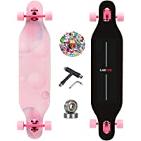 LAKVEE Longboard,Stake Longboard for Beginer and Professional,High-end Design 41-Inch Downhill,9 Ply Canadian Maple…