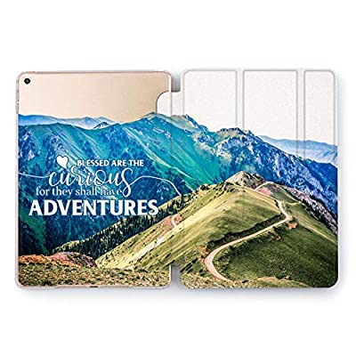 Wonder Wild Adventure Case Apple iPad Pro Case 9.7 11 inch Mini 1 2 3 4 Air2 10.5 12.9 2018 2017 Design 5th 6th Gen Clear Smart Hard Cover Voyage Colorful Trip Road High Way Bless Curious Backpacker