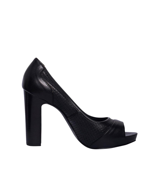 JANET & JANET Damen Damen Damen Schuhe Sandalo Pumps in Schwarz ce5e1e