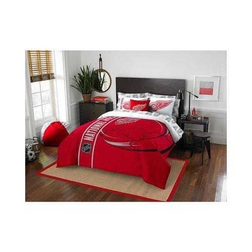 Northwest 836 Redwings 2 Shams Detroit Red Wings NHL Super Soft Comforter Set - Full
