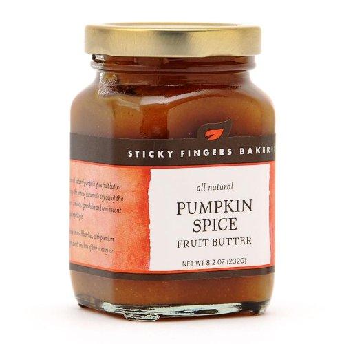 Sticky Fingers Pumpkin Spice Fruit Butter 8.2 Oz. (Spice Scone Pumpkin)