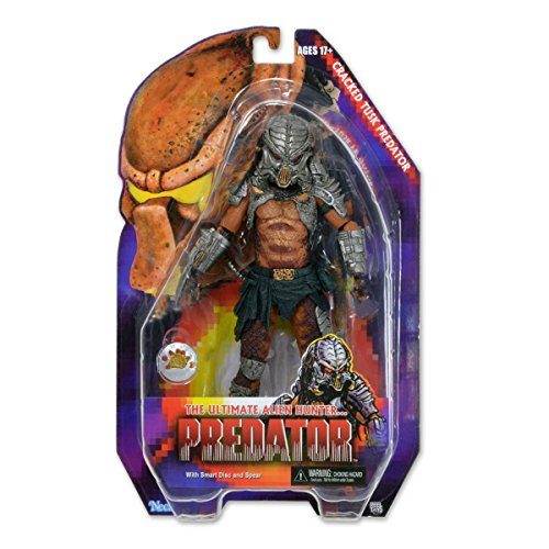 "NECA Predator Series 13 Cracked Tusk Predator 7"" Scale Action Figure - Kenner Expanded Universe"
