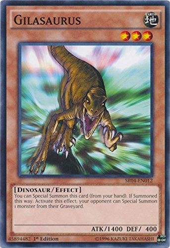 Gilasaurus - SR04-EN012 - Common - 1st Edition - Structure Deck: Dinosmasher's Fury (1st Edition) ()