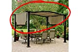 Replacement Canopy for Essential Gardens Curved Pergola