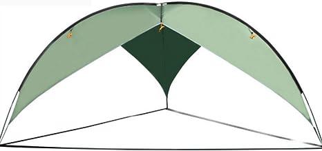 LJJYN Carpa Triangular De Gran tamaño Pantalla de Cielo al Aire Libre cámping Playa Toldo Impermeable Grande Pérgola,Dark Green,480 * 480 * 200cm: Amazon.es: Deportes y aire libre