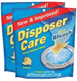 Glisten DP06N-PB Disposer Care Foaming Garbage Disposer Cleaner-4.9 Ounces 4 ct-2 pk