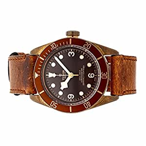 Tudor Heritage automatic-self-wind mens Watch 79250BM (Certified Pre-owned)
