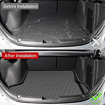 Powerty Trunk Mat All Weather TPO Rear Cargo Liner for Hyundai Tucson 2016 2020 2020 2020 2020: Automotive