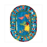 Faith Based Let the Children Come Kids Rug Rug Size: Oval 7'8'' x 10'9''