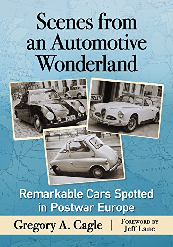 Gregory Cagle was a 10-year-old car fanatic when his family moved from New Jersey to Germany in 1956. For the next five years he photographed unusual, rare and sometimes bizarre automobiles throughout Europe. This book features 105 specimens of auto ...