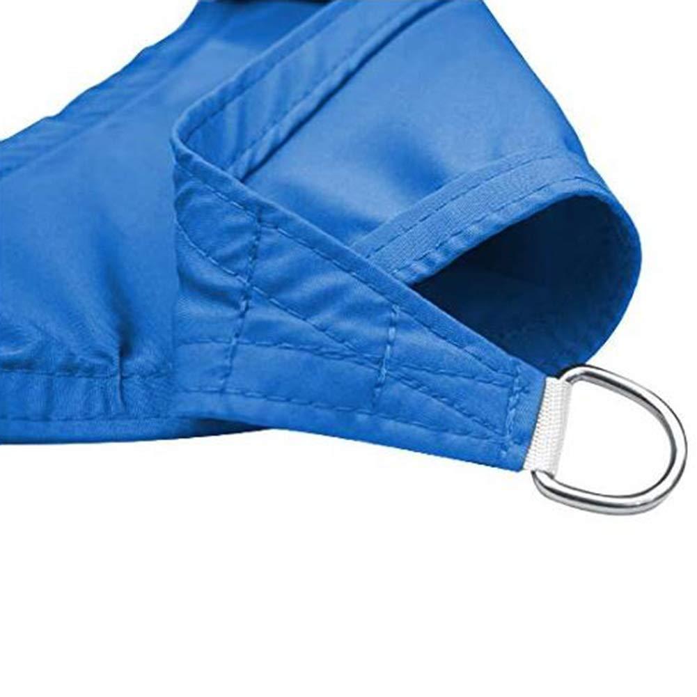 Personalizado LIXIONG Malla Sombra De Red Tri/ángulo Dom Sombra Vela Jard/ín Red De Aislamiento Anti-ultravioleta Enfriarse Por Cochera Invernadero 2 Colores Color : Blue, Size : 2.5x3.0m