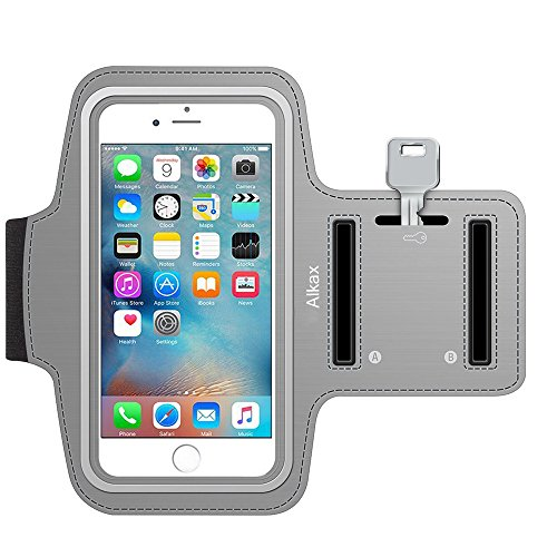 [iPhone 6 Plus, iPhone 6S Plus , iPhone 7 Plus, Galaxy S8 Plus, S8 Armband , Alkax Exercise Sports Design Running Workout Pouch With Key Holder Cover For hiking,Walking + 1 Stylus Pen] (Costumes Jewelry Prices)